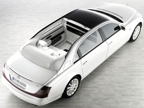 2010 Maybach Landaulet (Softtop Convertible)