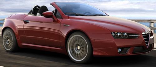 Alfa Romeo Spider Softtop Convertible - Alfa romeo spider soft top