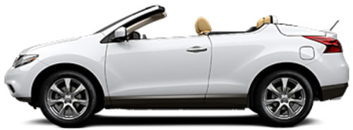 Two Doors Gives The Murano Crosscabriolet A Streamlined Earance That Shouts Fun Base Price For This Softtop Convertible Is 41 995