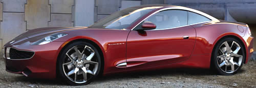 How About This Fisker Karma S Convertible With Seating For 4 Can Fit The Driver And 3 Pengers A Typical Family Of Four
